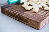 Торцевая разделочная доска ПикничОК из дуба 45х30х4 см, фото 8