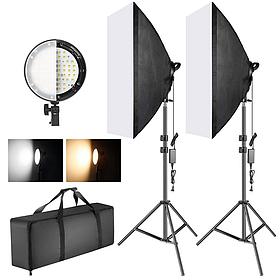 Набор постоянного студийного света LED 168 диодов Louis Daguerre CA8081