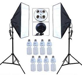 Набір постійного студійного світла Prolighting (50x70 див.+Лампи 45 Вт.)