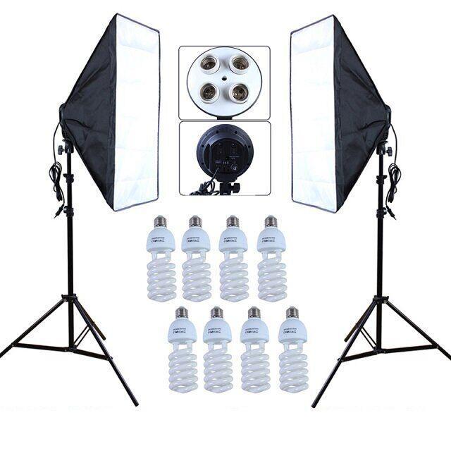 Набір постійного студійного світла Prolighting (50x70 див.+ Лампи 65 Вт.)