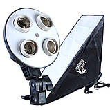 Набір постійного студійного світла Prolighting (50x70 див.+ Лампи 65 Вт.), фото 3