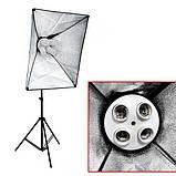 Набір постійного студійного світла Prolighting (50x70 див.+ Лампи 65 Вт.), фото 6