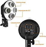 Набір постійного студійного світла Prolighting (50x70 див.+ Лампи 65 Вт.), фото 9