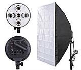 Навісний софтбокс журавель на 5 ламп Е27 Prolighting (60х90см.), фото 2