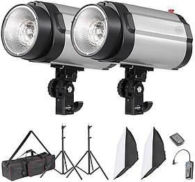 Набір імпульсного світла FST 300DI з двома спалахами (без сумки) (CA9007/4)