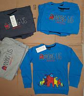 Кофти для хлопчиків Амонг Ас  2-ох нитка на ріст:128,134,140,146,152 см у 3-ох кольорах