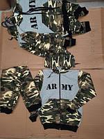 Камуфляжний костюми  для хлопчиків на ріст:92-98,98-104,104-110,110-116см