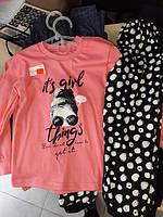 Піжамка для  дівчаток Вікторія інтерлок 86-92,98-104,110-116,122-128см