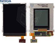 Дисплей (LCD) для Nokia 6267 (полная сборка), оригинал