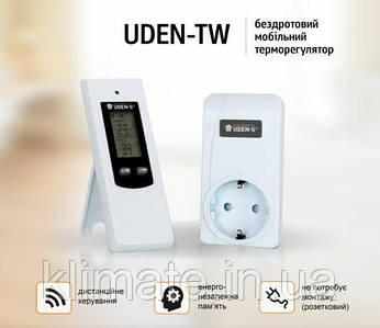 Терморегулятор, термостат Uden-tw (беспроводной)