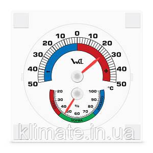 Термогигрометр оконный на липучке ТГО-1 Стеклоприбор