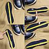 Сліпони мокасини чоловічі літні джинс текстильні джинсові тканинні, фото 5