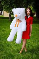 Плюшевий ведмедик Білого кольору 120 див.