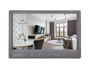 Домофон SEVEN DP–7571 FHD grey