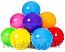 Мячики шарики для палаток и сухого бассейна, 50 штук диаметр 8.2. (Украина)