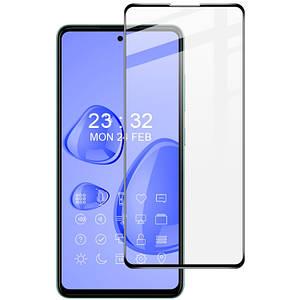Захисне скло для Samsung Galaxy A52 5д хороше протиударне щільне на весь екран на самсунг А52 чорне
