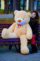Плюшевый медвежонок 160 см. Бежевый, фото 1