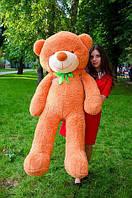 Плюшевый медвежонок 160 см. Медовый, фото 1