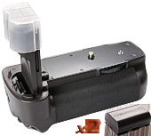 Аналог Canon BG-E6 (Phottix BP-5D MKII Premium) + 2x LP-E6. Батарейна ручка для Canon EOS 5D Mark II [Phottix]