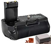 Аналог Canon BG-E3 (Phottix BP-400D Premium) + 2x NB-2LH. Батарейная ручка для Canon EOS 350D/400D