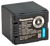 Оригінал Panasonic CGA-DU21. Акумулятор для Panasonic NV/PV/SDR/VDR серії