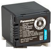 Оригінал Panasonic CGA-DU21. Акумулятор для Panasonic NV/PV/SDR/VDR серії, фото 1