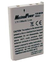 Аналог Nikon En-El5 (MaximalPower 1300mAh). Аккумулятор для Nikon Coolpix 4200, 5200, 5900, 7900, P4, P90,