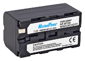 Аналог Sony NP-F750 (MaximalPower 4800mAh). Акумулятор для Sony HDR-FX1/FX7, HVR-V1U/Z7U, DCR-TR8100/VX2100 та ін., фото 1