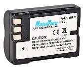 Аналог Olymus BLM-1 (MaximalPower 1300mAh). Акумулятор для Olympus E-300/330/500/520, фото 1
