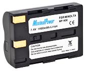 Аналог Minolta NP-400 (MaximalPower 1400mAh). Акумулятор для Minolta DiMAGE A1,A2,A7,5D,7D, фото 1