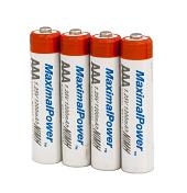 Набір пальчикових акумуляторів 4x AAA (MaximalPower 1200mAh), фото 1
