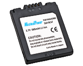 Аналог Panasonic CGA-S001 (MaximalPower 680mAh). Аккумулятор для Panasonic DMC- F1, FX1, FX5