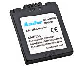 Аналог Panasonic CGA-S001 (MaximalPower 680mAh). Аккумулятор для Panasonic DMC- F1, FX1, FX5, фото 1