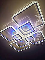 Люстра светодиодная с пультом Люстра Led 1140/8 черный цвет
