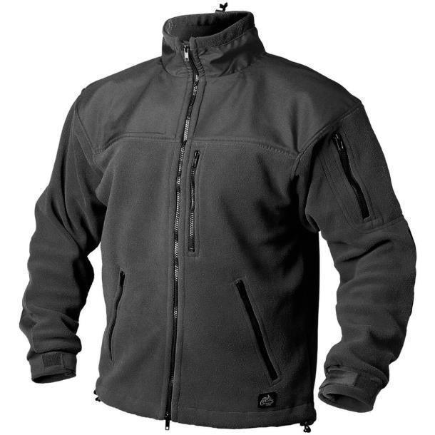 Флисовая кофта Helikon-Tex Classic Army Fleece Black BL-CAF-FL-01
