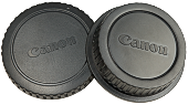 Кришка для фотокамери + задня кришка об'єктива (Body and Rear Lens Caps) [Canon]