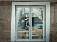 Алюминиевые двери (входные группы)