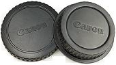 Крышка для фотокамеры + задняя крышка объектива (Body and Rear Lens Caps) [Nikon]