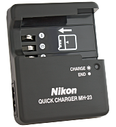 Зарядний пристрій Nikon MH-23 для акумуляторів Nikon En-El9a (Nikon D40, D60, D3000, D5000) [OEM]