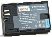 Аналог Canon LP-E6 (DSTE 2600mAh- 100% совместимость). Аккумулятор для Canon 7D, 60D, 5D Mark II / III, фото 1