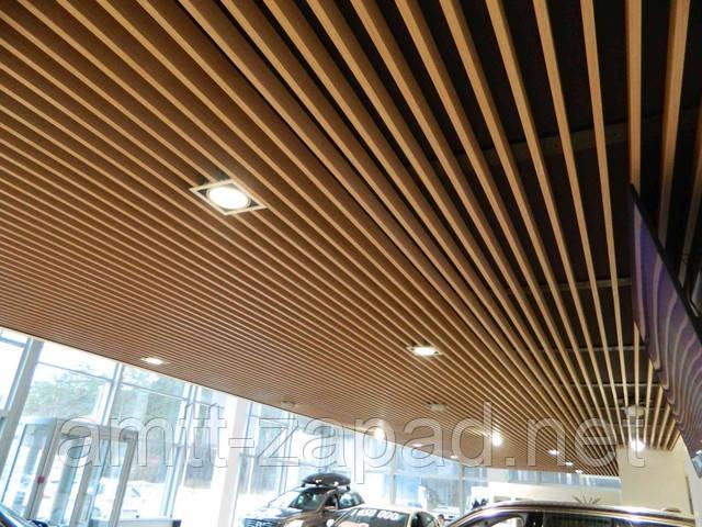 Кубообразный потолок - новое веяние моды.