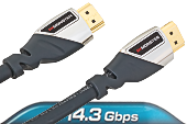 HDMI Monster Cable - Advanced High Speed 700 - 14.3 Gbps 2.4 метра, фото 1