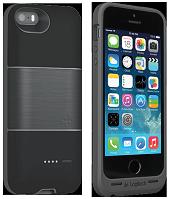 Аккумуляторный чехол Logitech Protection+ для iPhone 5/5S на 1800mAh [Черный], фото 1