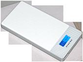 Зовнішня батарея Pineng PN-c 993 LCD дисплеєм і підтримкою USB Type-C і Quick Charge 3.0 на 10000mAh [Білий]