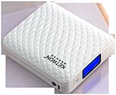 Портативна батарея Ketron KQS-10400 з LCD дисплеєм на 10 400 mAh [Білий]