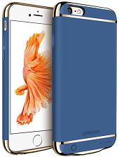 Дизайнерський акумуляторний чохол Joyroom для iPhone 6/6S на 2500mAh [Синій]