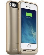 Акумуляторний чохол Mophie Juice Pack Air для iPhone 5/5S на 1700mAh [Золотої]