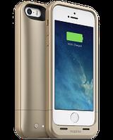 Акумуляторний чохол Mophie Juice Pack Air для iPhone 5/5S на 1700mAh [Золотої], фото 1