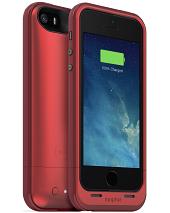 Аккумуляторный чехол Mophie Juice Pack Plus для iPhone 5/5S/SE на 2100mAh [Красный]