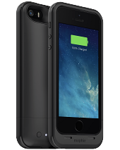 Акумуляторний чохол Mophie Juice Pack Plus для iPhone 5/5S/SE на 2100mAh [Чорний]